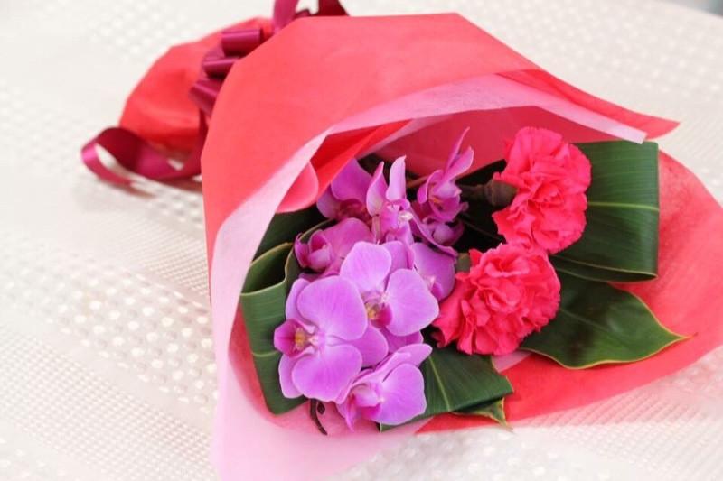 胡蝶蘭 花束 母の日 お客様の声