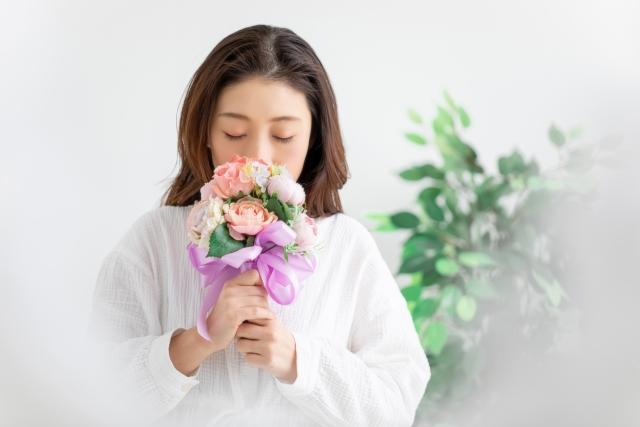 母の日 お花 癒し効果