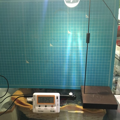 多肉植物 明るさ 照度計で測ってみた 植物用LEDライト べた置き