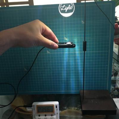 多肉植物 明るさ 照度計で測ってみた 植物用LEDライトふつう