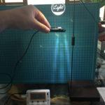 植物用LEDライトの光を照度計を使って測ってみた