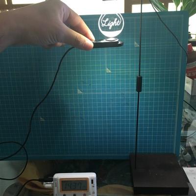 多肉植物 明るさ 照度計で測ってみた LEDライト近いやつ