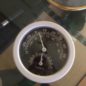 温度計 室内2021年1月10日:221日目