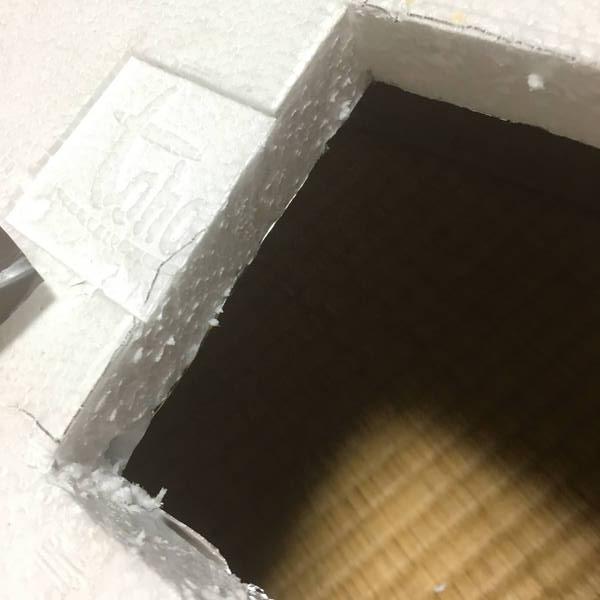 防寒対策の簡易温室 めっちゃ光る原因